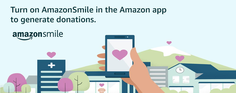 Amazon Smile Banner for Website – June 2020