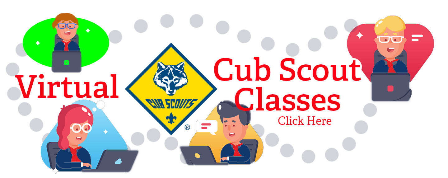 Virtual Cub Scout Classes