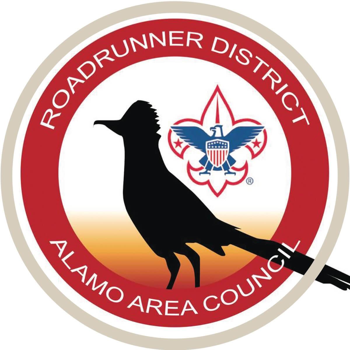 Roadrunner Logo in mask